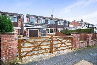 4 Bedrooms Semi Detached House for sale in Cherryfields Road, Macclesfield, Cheshire, Macclesfield