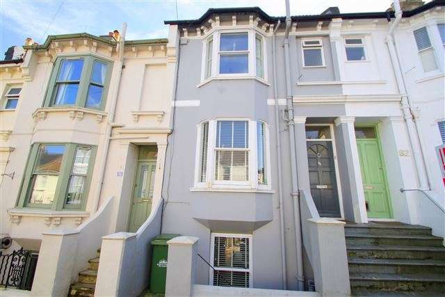 5 Bedrooms Terraced House for sale in Richmond Road, Brighton, East Sussex, BN2 3RN
