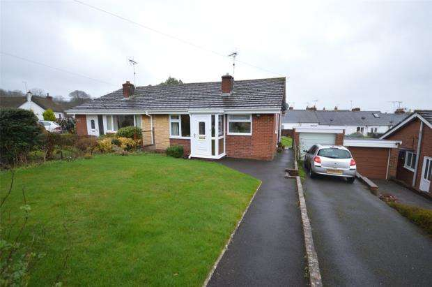 2 Bedrooms Semi Detached Bungalow for sale in Silverdale, Silverton, Exeter, Devon
