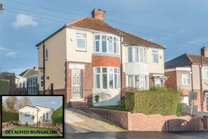 3 Bedrooms Semi Detached House for sale in Lyminster Road, Wadsley Bridge, S6 1HY - Including Detached Bungalow