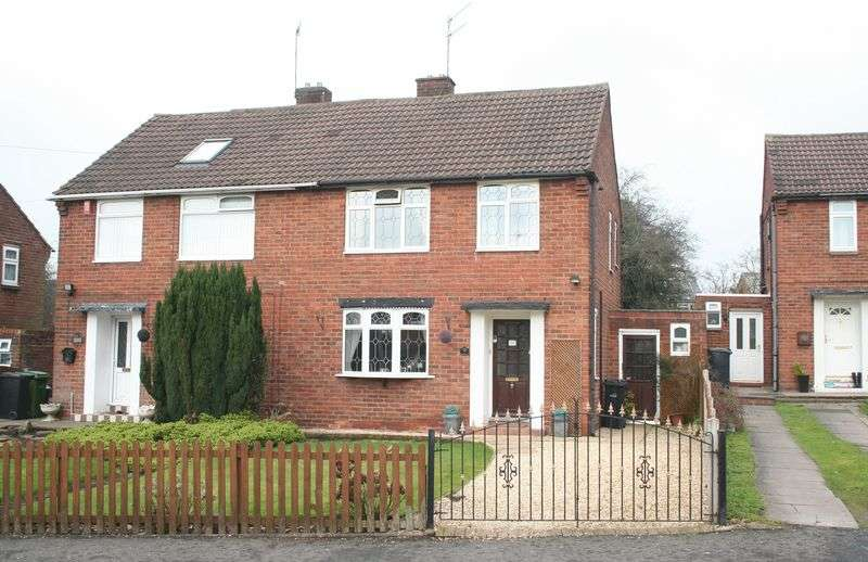 3 Bedrooms Semi Detached House for sale in WORDSLEY, Ridgeway Road