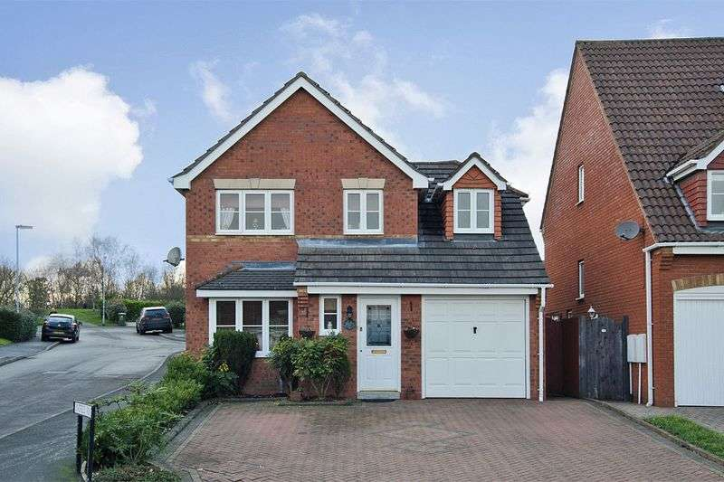 3 Bedrooms Detached House for sale in Beaumont Way, Norton Canes, Cannock