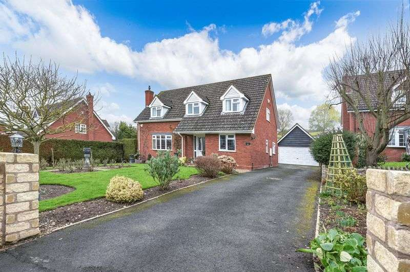4 Bedrooms Detached House for sale in The Glen, Much Wenlock