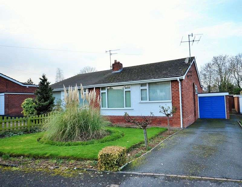 2 Bedrooms Semi Detached Bungalow for sale in Mount Orchard, Tenbury Wells