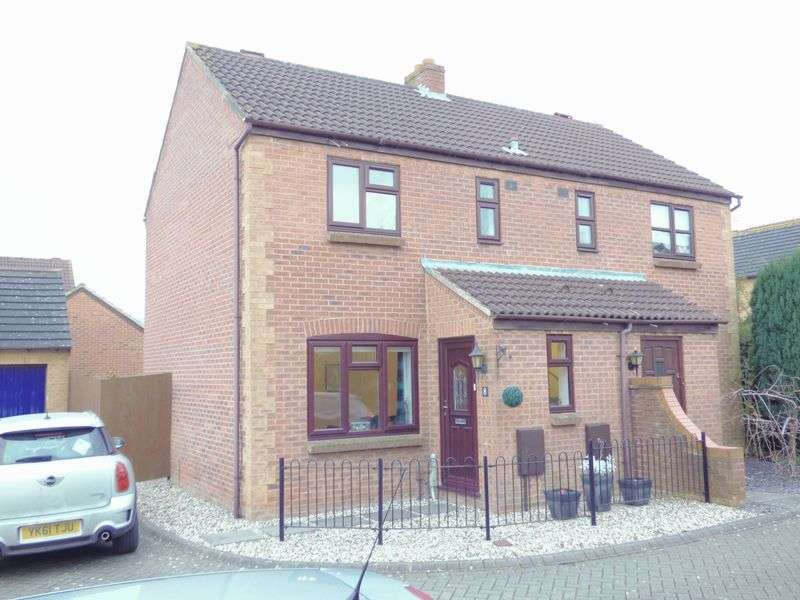 2 Bedrooms Semi Detached House for sale in Discovery Road, Gloucester