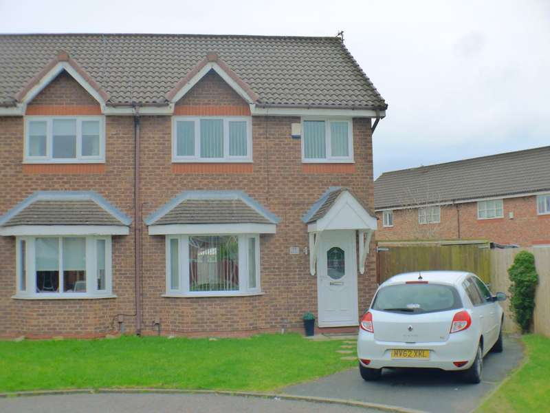 3 Bedrooms Semi Detached House for sale in Libra Close, Liverpool, L14 9LX