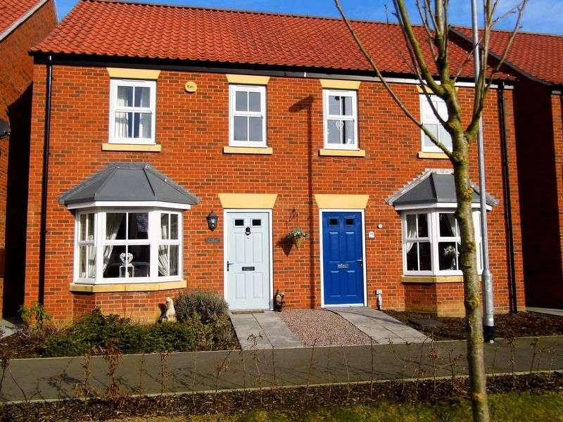 3 Bedrooms Semi Detached House for sale in Riverside, MARKET RASEN
