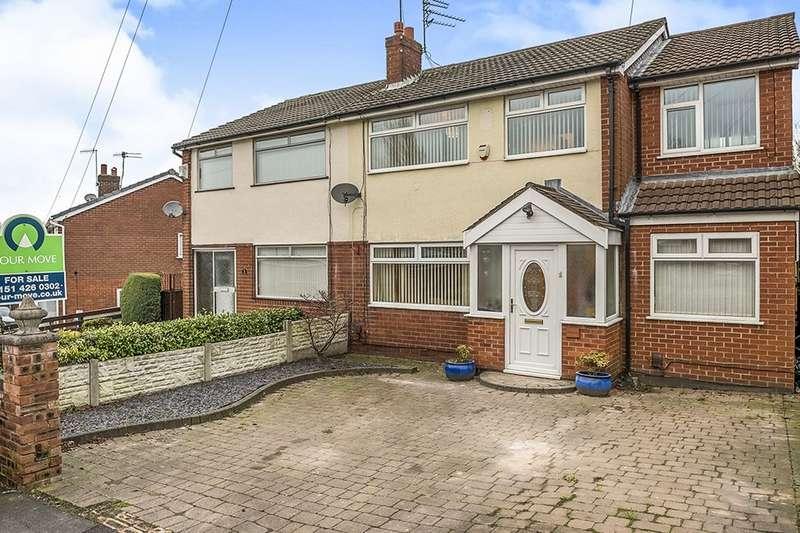 4 Bedrooms Semi Detached House for sale in Mitre Close, Whiston, Prescot, L35