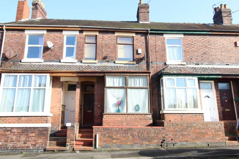 2 Bedrooms Property for sale in Gordon Street, Burslem, Stoke-On-Trent, ST6