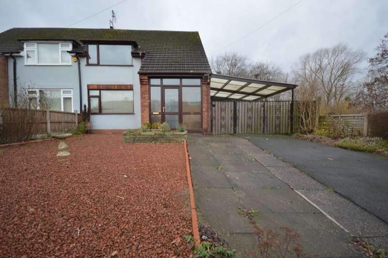 3 Bedrooms Semi Detached House for sale in Wombridge Road, Telford, TF2