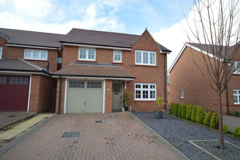 4 Bedrooms Detached House for sale in Wittingham Close, Hadley, Telford, TF1