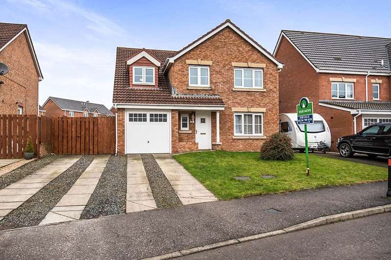4 Bedrooms Detached House for sale in Hopepark Drive, Smithstone, Cumbernauld, G68