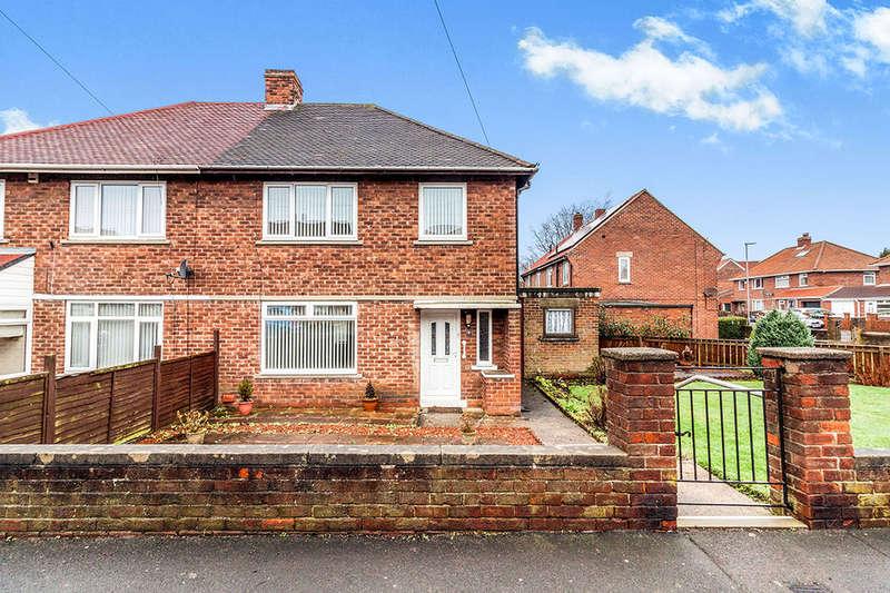 3 Bedrooms Semi Detached House for sale in Parkland Avenue, Winlaton, Blaydon-On-Tyne, NE21