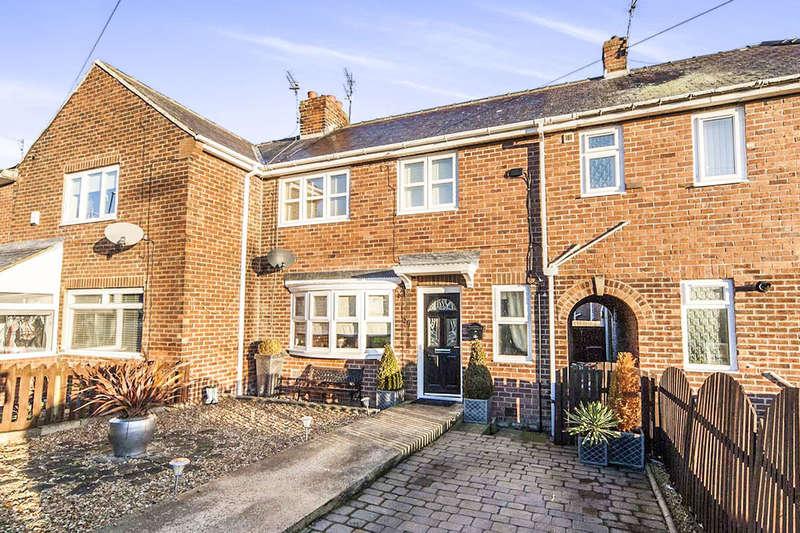 2 Bedrooms Semi Detached House for sale in Roselea Avenue, Ryhope, Sunderland, SR2