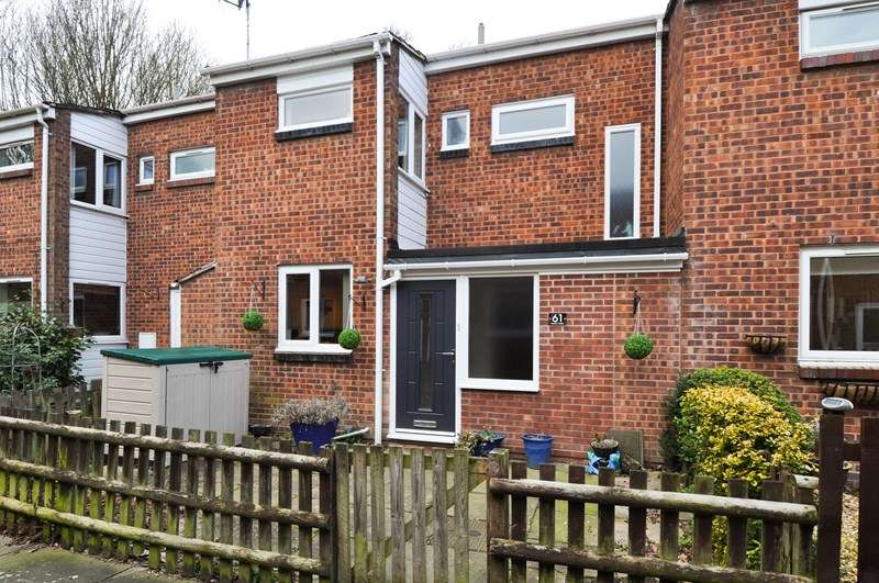 3 Bedrooms Terraced House for sale in Linton Close, Winyates East, Redditch