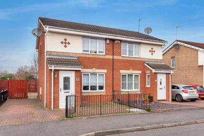 2 Bedrooms Semi Detached House for sale in Battles Burn Drive, Glasgow, Lanarkshire