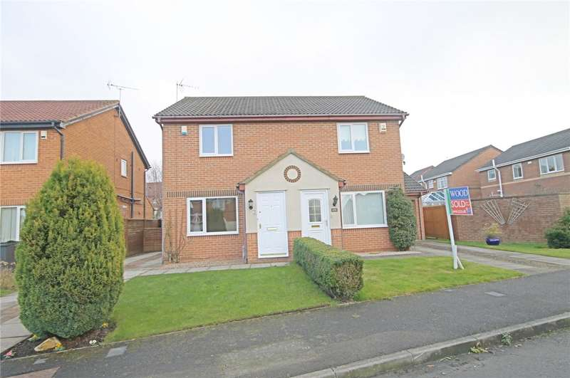 2 Bedrooms Semi Detached House for sale in Abbotsfield Way, Darlington, County Durham, DL3
