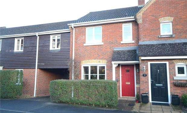 2 Bedrooms Terraced House for sale in Turgis Road, Elvetham Heath, Fleet