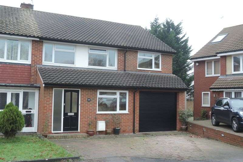 5 Bedrooms Semi Detached House for sale in Hatherleigh Gardens, Potters Bar