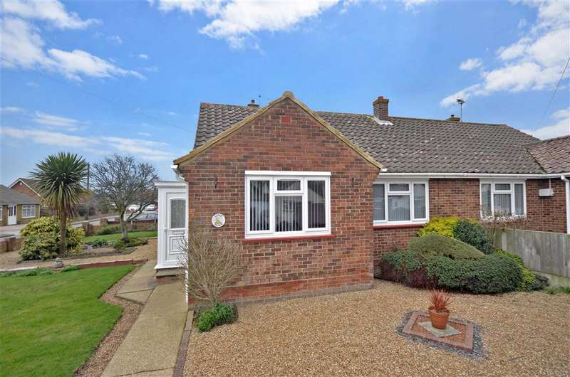 2 Bedrooms Semi Detached Bungalow for sale in Richmond Drive, Herne Bay, Kent