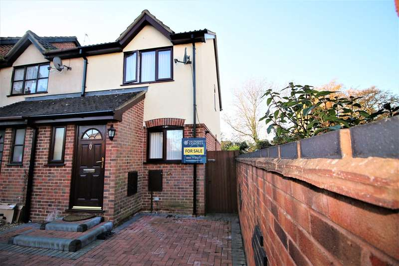 2 Bedrooms End Of Terrace House for sale in Finch Close, Tadley, RG26