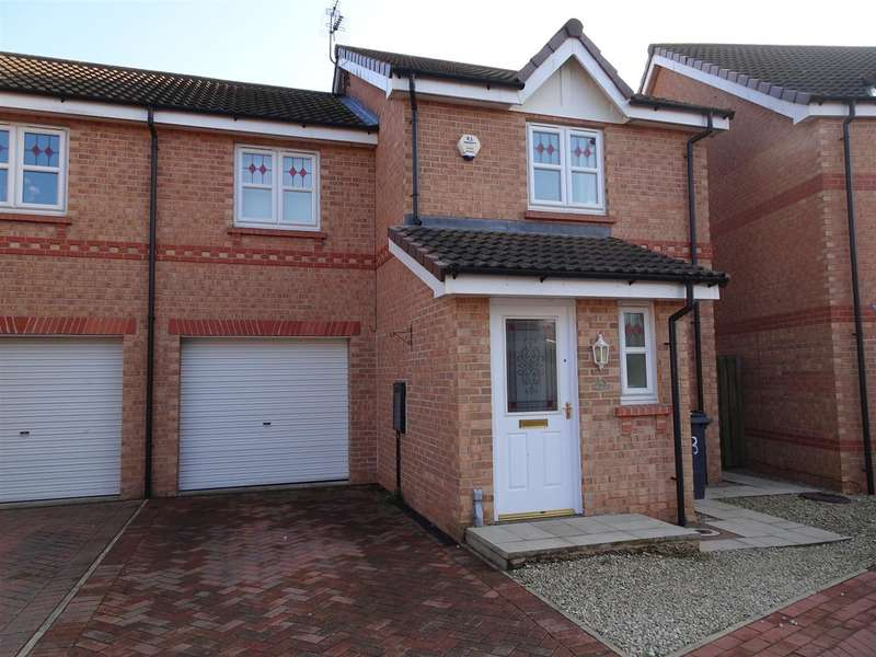 3 Bedrooms Semi Detached House for sale in 3 Blueberry Court, Woodlaithes, Rotherham, S66 3SG