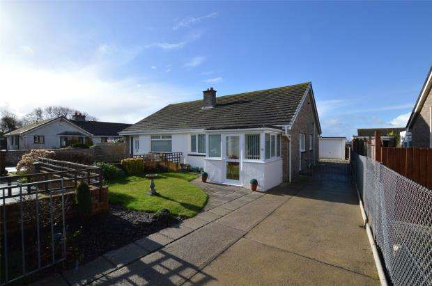 2 Bedrooms Semi Detached Bungalow for sale in Leyford Close, Wembury, Plymouth, Devon