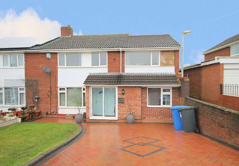 4 Bedrooms Semi Detached House for sale in Ashdale Road, Bolehall, Tamworth, B77 3ND