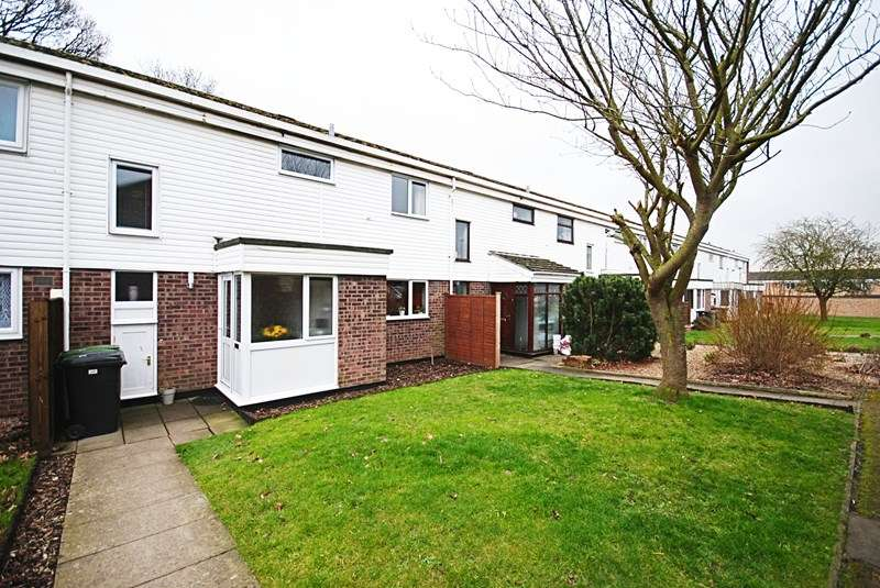 3 Bedrooms Terraced House for sale in Cotman Close, Diss