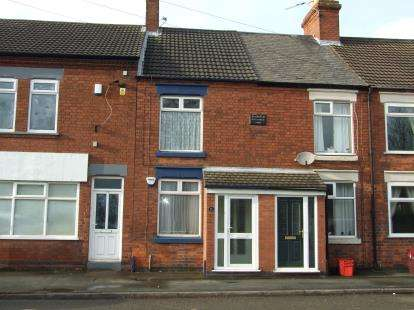 3 Bedrooms Terraced House for sale in Leicester Road, Ibstock