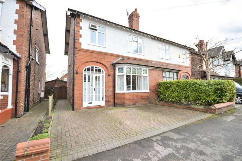 3 Bedrooms Property for sale in MAPLE ROAD, Bramhall, Stockport, Cheshire, SK7
