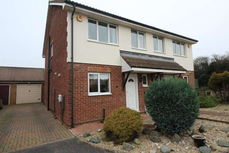 3 Bedrooms Semi Detached House for sale in Cornflower Close, Preston Down, Weymouth, Dorset, DT3 6SZ