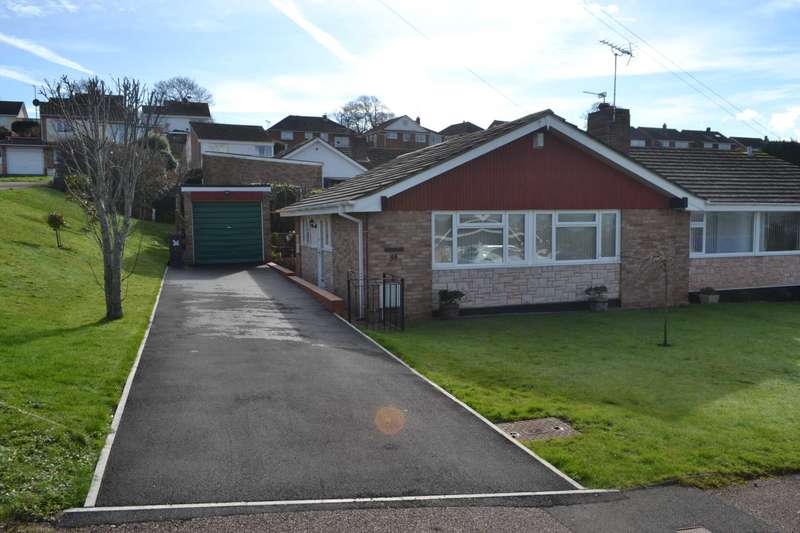 3 Bedrooms Semi Detached Bungalow for sale in Chichester Close, Exmouth