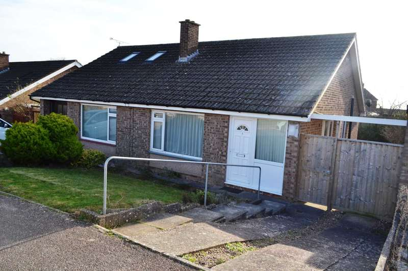 2 Bedrooms Semi Detached Bungalow for sale in Cliston Avenue, Exmouth