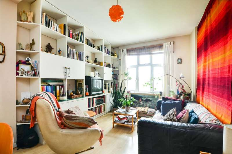 3 Bedrooms Flat for sale in Brixton Hill, Brixton Hill, SW2