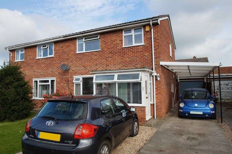 3 Bedrooms Semi Detached House for sale in Broadhurst Gardens, Burnham-On-Sea