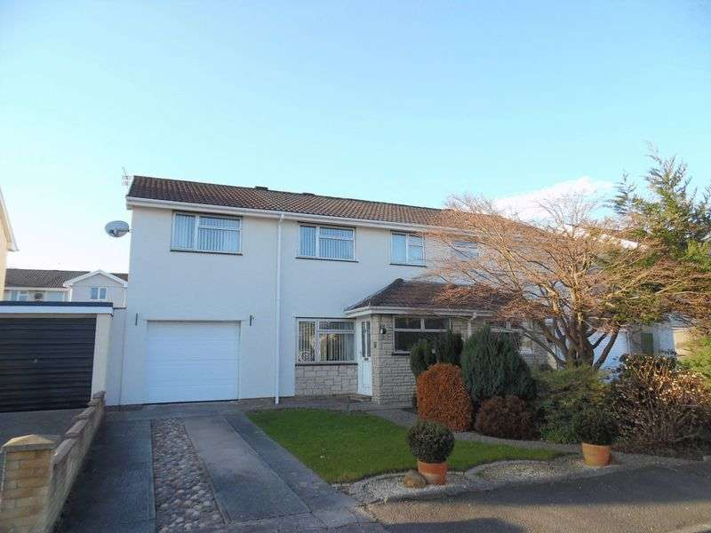 5 Bedrooms Semi Detached House for sale in Duffryn Pencoed Bridgend CF35 6JL