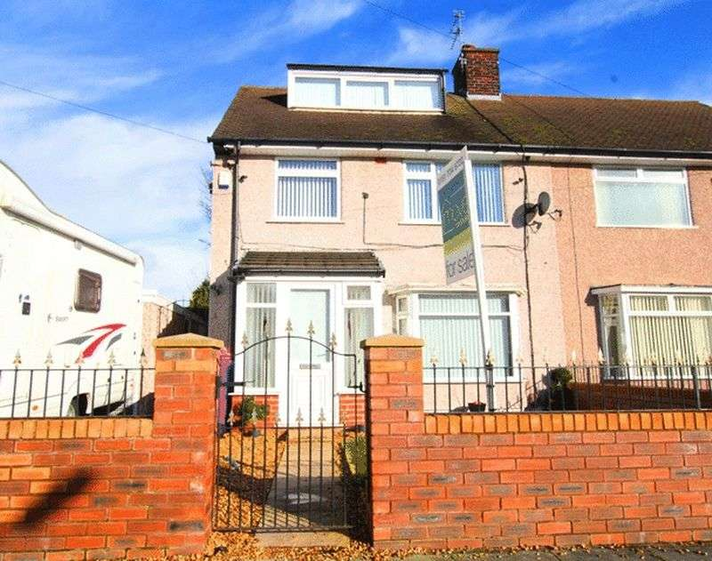 3 Bedrooms Semi Detached House for sale in Walsingham Road, Childwall, Liverpool, L16