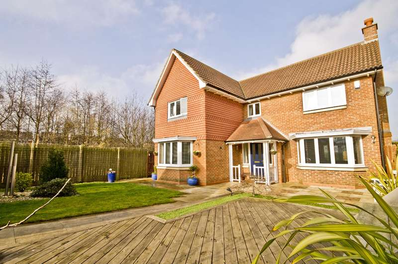 4 Bedrooms Detached House for sale in Snowdon Grove, Ingleby Barwick, Stockton-on-Tees, TS17 5DU