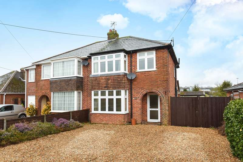 3 Bedrooms Semi Detached House for sale in Old Worting Road, Basingstoke, RG22