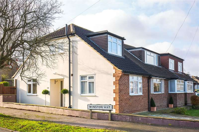 5 Bedrooms Semi Detached House for sale in The Greenway, Potters Bar, Hertfordshire, EN6