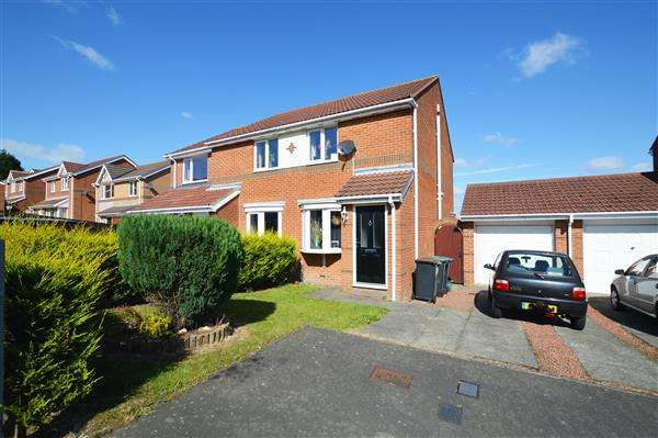 2 Bedrooms Semi Detached House for sale in Penshaw View, Sacriston
