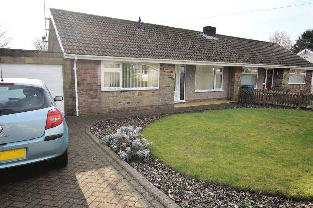 2 Bedrooms Semi Detached Bungalow for sale in Napier Crescent, Seamer, Scarborough, North Yorkshire YO12 4HX