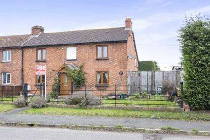 2 Bedrooms Semi Detached House for sale in Holly Bank, Tewkesbury Road, Uckington, Cheltenham