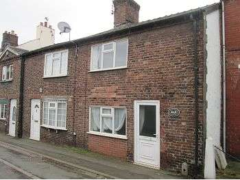 2 Bedrooms Terraced House for sale in Crewe Road, Wheelock, Sandbach, CW11 3RT