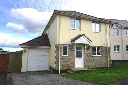 3 Bedrooms Detached House for sale in Roche, St. Austell, Cornwall