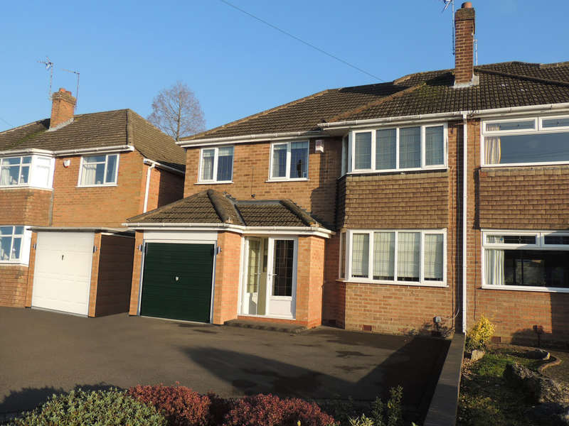 4 Bedrooms Semi Detached House for sale in Milton Road, Bentley Heath