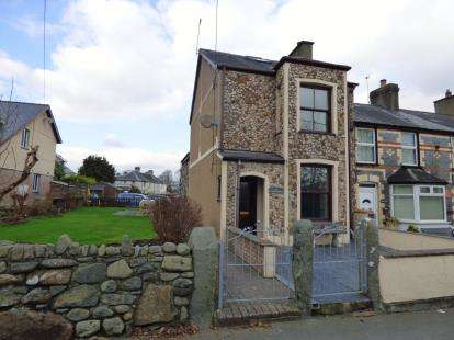 2 Bedrooms End Of Terrace House for sale in Arvonia Terrace, Criccieth, Gwynedd, LL52