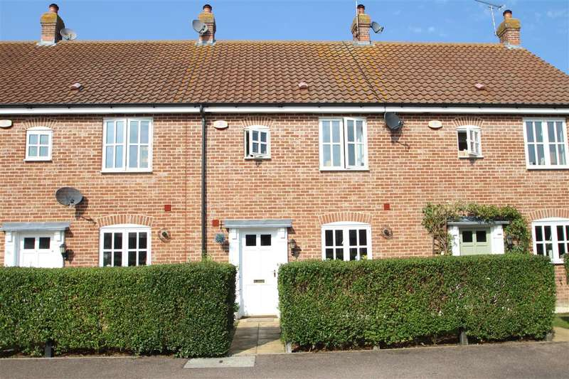 3 Bedrooms Terraced House for sale in Curtis Way, Grange Farm, Kesgrave, Ipswich