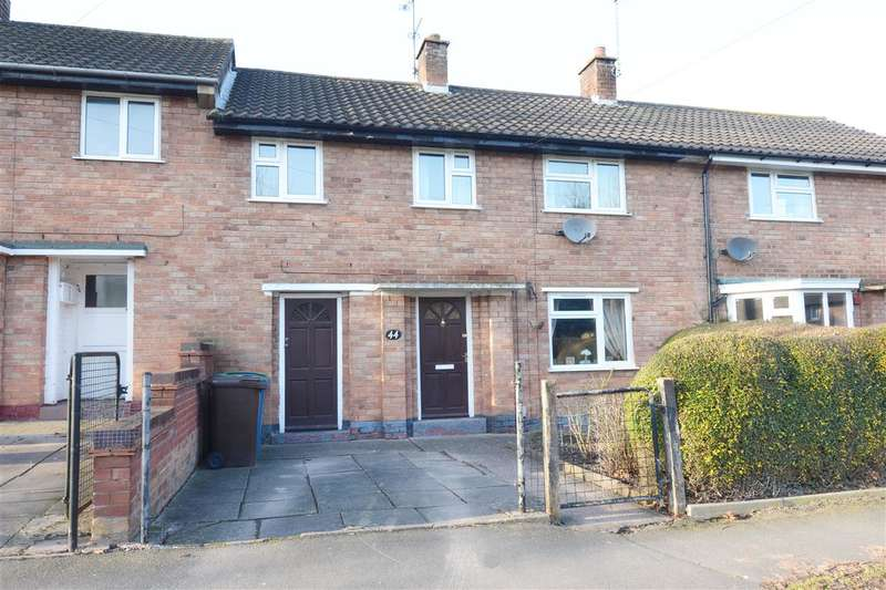3 Bedrooms Terraced House for sale in Churchill Way, Stafford